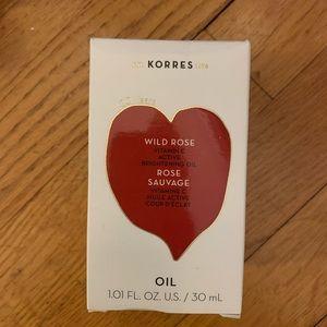 Korres Brightening Facial Oil, never opened